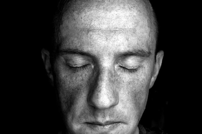 self portrait black and white