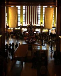 Interior of Union Terminal